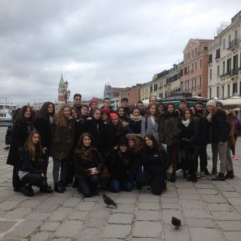 Το 4ο Γενικό Λύκειο Καλαμάτας στη Βενετία