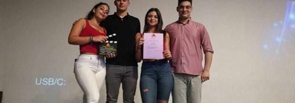 Το A' βραβείο καλύτερης ταινίας στο 4ο Λύκειο Καλαμάτας